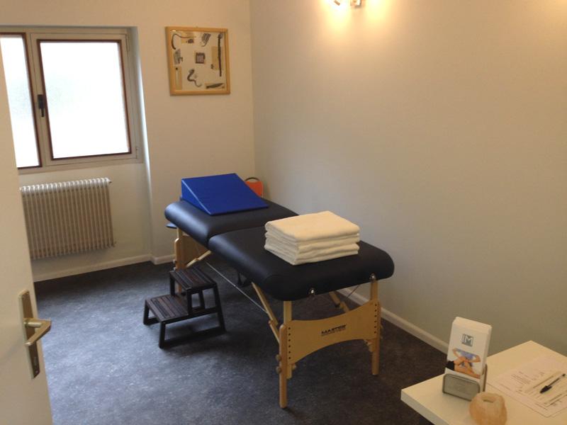 Studio lettino fisioterapia trattamenti